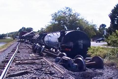 CSX Train Derails in Smithsburg, Maryland - FELA Lawyer News