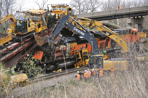 Lives Lost, Lessons Learned | Train, Abandoned train ...  |Rail Road Train Wreck