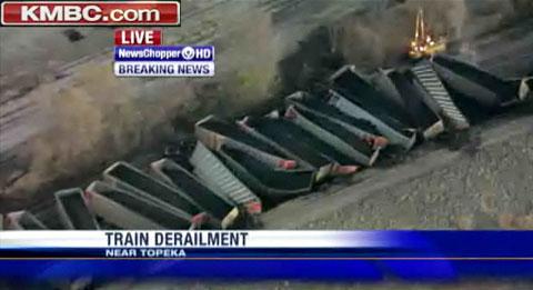 Massive Union Pacific Train Derailment in Topeka, KS - FELA
