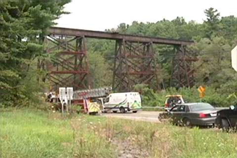 A Canadian Pacific railroad worker was killed when the equipment he was working with came into contact with a high voltage electrical line in Harpursville, NY on August 26, 2013.