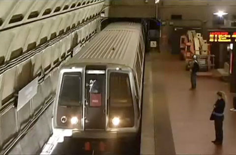 A worker was killed in an explosion while welding some new rail sections in a Metro Rail tunnel near Union Station in Washington, DC on October 6, 2013.