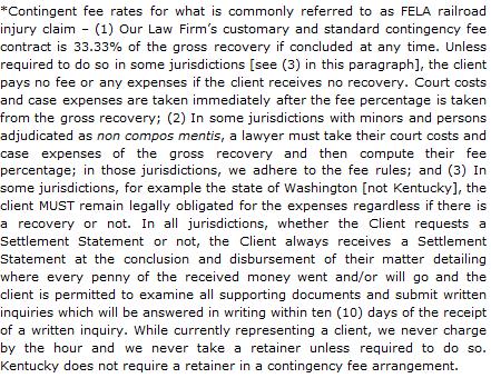 Kentucky FELA Attorney